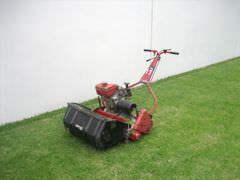 [photo: lawnmower]